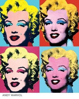 Mosaique photo Andy Warhol