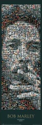 Mosaique photo : Bob Marley, The Legend