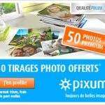 PIXUM : 50 photos gratuites