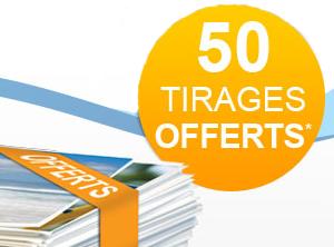 Extrafilm Promotion 50 tirages offerts pour toute commande de 100 tirages photo
