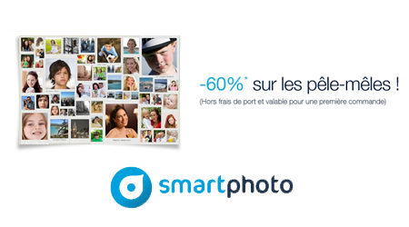 smartphoto remise de 60 sur votre p le m le tirage photo gratuit. Black Bedroom Furniture Sets. Home Design Ideas