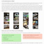 Test du livre photo luxe, format A4, orientation Paysage, réalisé par Photobox