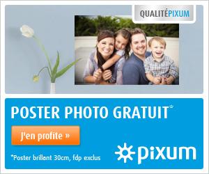 Offre Poster Gratuit par PIXUM