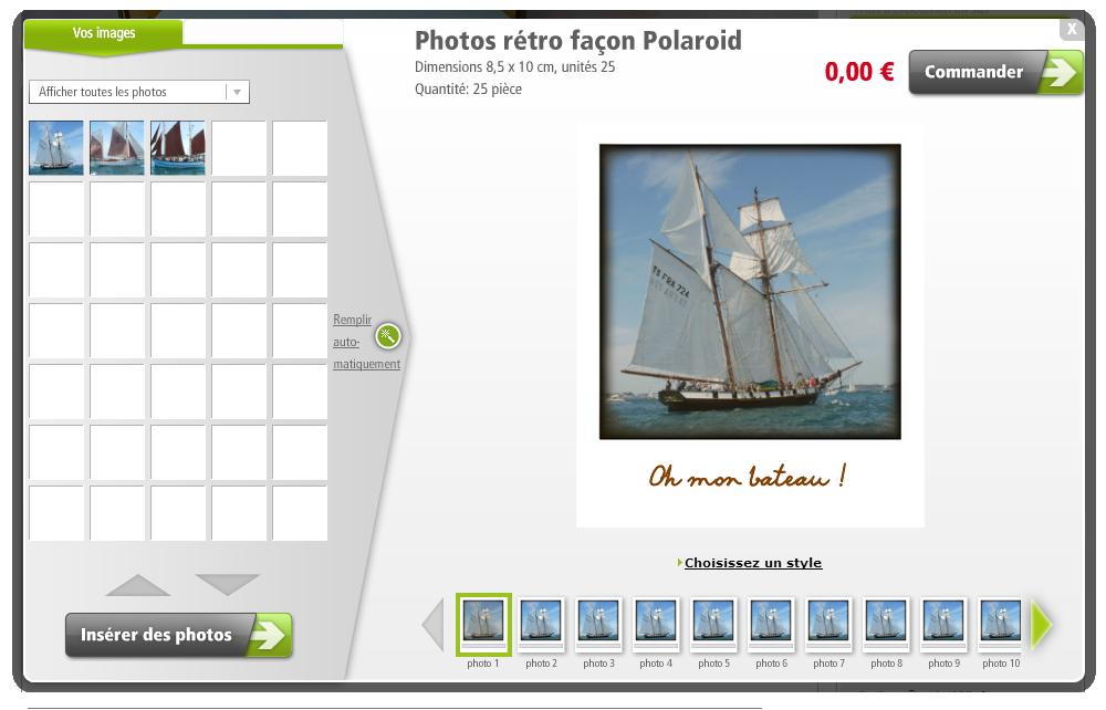 posterxxl vos photos fa on polaroid offertes tirage photo gratuit. Black Bedroom Furniture Sets. Home Design Ideas
