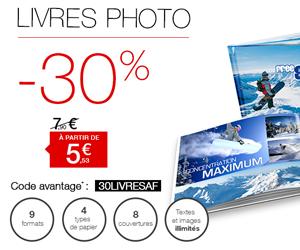 Fnac livre photo reduction 30 pourcent tirage photo gratuit - Code promo photobox frais de port gratuit ...