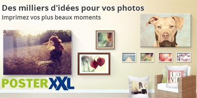 posterXXL idées cadeaux photo