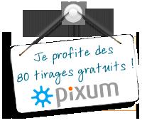 Pixum 80 tirages blanc bleu tirage photo gratuit - Code promo photobox frais de port gratuit ...