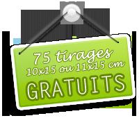 Je profite de l'offre PHOTOBOX : 75 tirages photo gratuits !