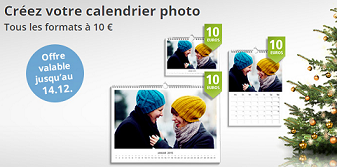 calendriers 10 euros