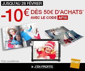 FNAC : 10€ de réduction dès 50€ d'achats