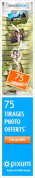 75 tirages photo offerts chez Pixum