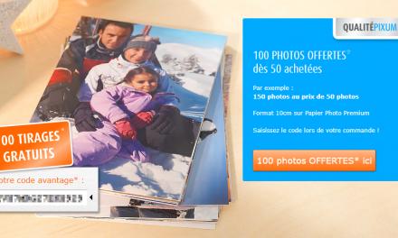 100 photos Premium gratuites dès 50 achetées chez PIXUM !