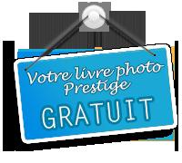 Je profite de l'offre PHOTOBOX : 1 livre photo Prestige gratuit dès 10 euros de commande !