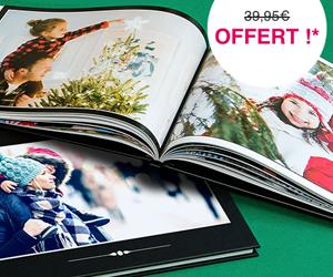 PHOTOBOX : Votre livre photo offert dès 10€ de commande !