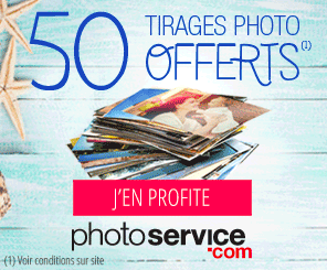 PhotoService : 50 tirages photo offerts !
