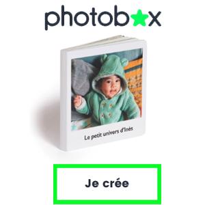PHOTOBOX : 30% de réduction sur le nouveau livre cartonné pour les tout-petits