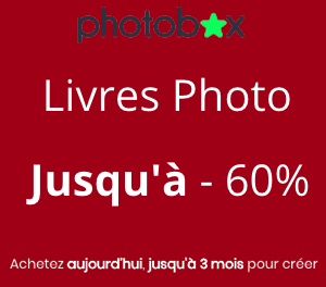 Photobox : Livres Photo jusqu'à – 60%