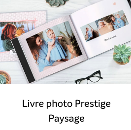 1 livre photo PRESTIGE gratuit avec Photoweb !